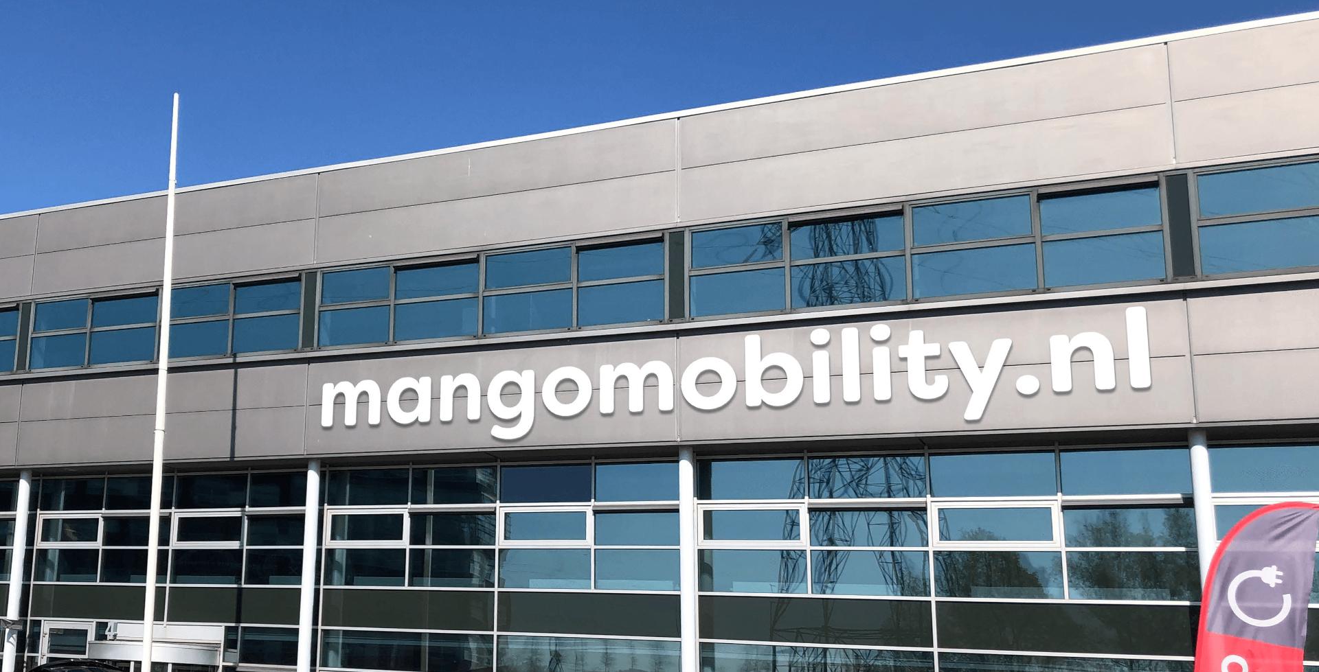 Een foto van het hoofdkantoor Mango Mobility te Breukelen. Hier vindt u ons Experience Center.