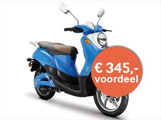 Elektrische scooter novi